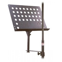 XTREME MSD15 Music Stand which Attaches to an Upright Microphone Stand