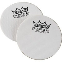 REMO 2.5 Inch Single Falam Slam Bass Drum Impact Patch 2 Pack