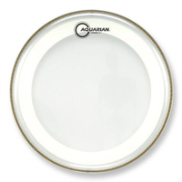 AQUARIAN MRS-2-13 SUPER-2 13 Inch Drum Head Clear with Studio-X Ring