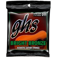 GHS BB20X BRIGHT BRONZE Acoustic Guitar String Set 11-50 Extra Light