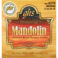 GHS A270 PHOSPHER BRONZE Mandolin String Set 11/40 Medium