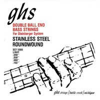 GHS 5600 DOUBLE BALL END Bass Guitar String Set 40-102 Roundwound Stainless Steel Light