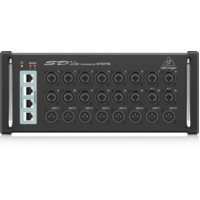 BEHRINGER SD16 Digital Snake I/O Stage Box with 16 MIDAS Preamps