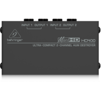 BEHRINGER MICROHD HD400 Hum Destroyer Di Box