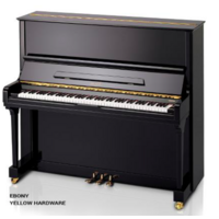 BEALE UP131Y 131cm Upright Piano In Ebony 9398382