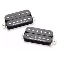 SEYMOUR DUNCAN 11102-92-B Black Winter Humbucker Pickup Set in Black