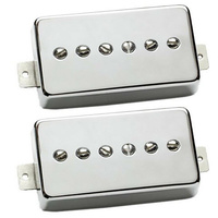SEYMOUR DUNCAN 11108-16-NC Phat Cat Humbucker Pickup Set in Nickel