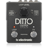 TC ELECTRONIC DITTO X2 LOOPER Guitar Effects Pedal