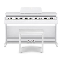 CASIO CELVIANO AP270WE 88 Note Digital Cabinet Piano with Bench in White AP-270WE