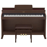 CASIO CELVIANO AP470BN 88 Note Digital Cabinet Piano with Adjustable Bench in Brown