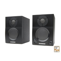 SAMSON AUDIO 1 MEDIAONE BT3A MEDIAONEBT3A 30 Watt Bluetooth Studio Monitors with 3 Inch Speaker