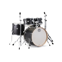 MAPEX STORM DK-ST5295FIK 5 Piece Drum Kit 22 10 12 16 and 14 Inch Snare Ebony Wood Grain Blue with Chrome Hardware