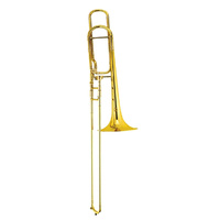 STEINHOFF KSO-TB1-GLD Advanced Student B Flat Tenor Trombone in Gold Lacquer with Case