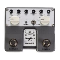 MOOER SHIMVERB PRO MEP-SVPRO Reverb Dual Guitar Effects Pedal