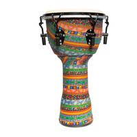DRUMFIRE 10 Inch Djembe ABS Tunable Head with Gig Bag