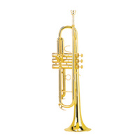 STEINHOFF KSO-TR20-GLD Intermediate Student B Flat Trumpet in Gold Lacquer with Case