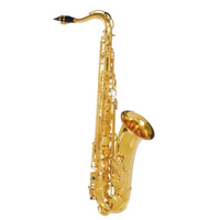 STEINHOFF KSO-TS20-GLD Intermediate Tenor Saxophone in Gold Lacquer with Case