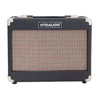 STRAUSS SM-T5 5 Watt Valve Guitar Amp Combo with 8 inch Celestion Speaker in Black SM-T5-BLK