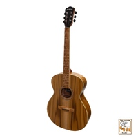 MARTINEZ 25 SERIES Small Body 000 Size Acoustic Guitar Jati Teakwood Top Natural Satin MF-25J-NST
