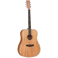 TANGLEWOOD UNION TWUD Dreadnought Acoustic Guitar in Natural Satin