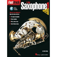 FASTTRACK E Flat Saxophone Method Book 1 Book and CD