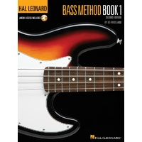 HAL LEONARD Electric Bass Book 1 Book & CD