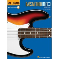HAL LEONARD Electric Bass Method Book 3 Book & CD