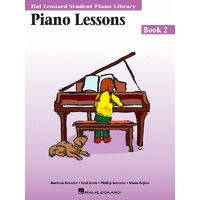 HAL LEONARD STUDENT PIANO LIBRARY Lessons Book 2