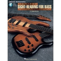 HAL LEONARD Simplified Sight Reading For Bass Book and CD