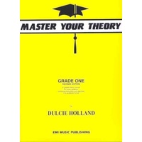 EMI MASTER YOUR THEORY Grade 1 Revised Edition By Dulcie Holland