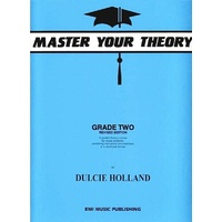 EMI MASTER YOUR THEORY Grade 2 Revised Edition by Dulcie Holland E18228