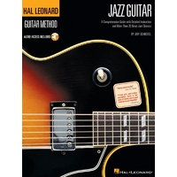 HAL LEONARD Guitar Method Jazz Guitar Book & CD