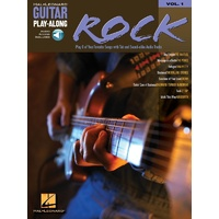 ROCK Guitar Playalong Book with Online Audio Access and TAB Volume 1