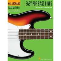 Easy Pop Bass Lines Book 1