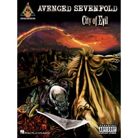AVENGED SEVENFOLD CITY OF EVIL Guitar Recorded Versions NOTES & TAB