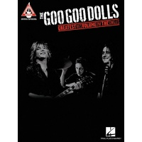 GOO GOO DOLLS GREATEST HITS VOL 1 Guitar Recorded Versions NOTES & TAB