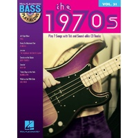 1970S Bass Playalong Book & CD Volume 31