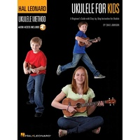HAL LEONARD Ukulele for Kids Book and Audio Access