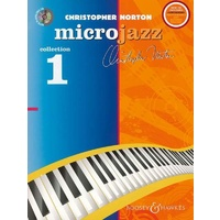 BOOSEY AND HAWKES Microjazz Collection 1 Piano Book and CD by Christopher Norton M060122514