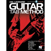 HAL LEONARD Guitar Tab Method Book & CD