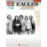 EAGLES For Acoustic Guitar Play Along Book and CD