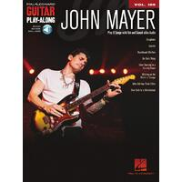 JOHN MAYER Guitar Playalong Book with Online Audio Access and TAB Volume 189