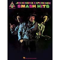 JIMI HENDRIX EXPERIENCE SMASH HITS Guitar Recorded Versions NOTES & TAB