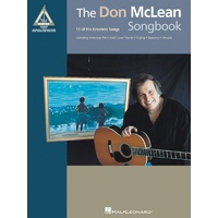 DON MCLEAN SONGBOOK Guitar Recorded Versions NOTES & TAB