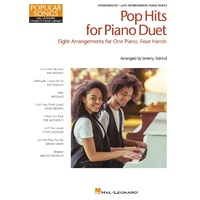 HAL LEONARD STUDENT PIANO LIBRARY Pop Hits For Piano Duet Popular Songs