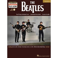 THE BEATLES Deluxe Guitar Playalong Book and Online Media