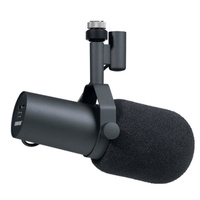 SHURE SM7B Dynamic Radio TV Microphone with Windsock and Yoke Mount