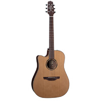 TAKAMINE PRO LEGACY ETN10CNLH 6 String Left Hand Acoustic/Electric Guitar with Cutaway in Natural Satin TETN10CNLH