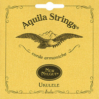AQUILA QU7U Nylgut Concert Ukulele String Set Regular Tuning GCEA in Key of C