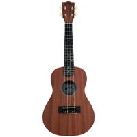 KEALOHA BU23 Concert Ukulele in a Dark Brown